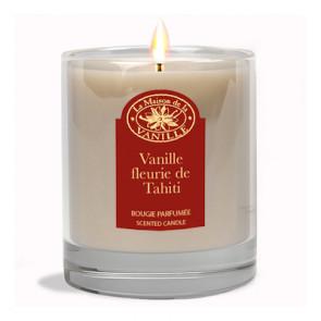 Bougie Vanille Fleurie de Tahiti