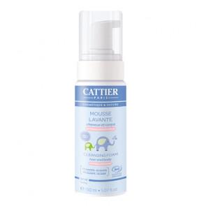 cattier-Mousse-Lavante-Bébé-Cheveux-et-Corps-150-ml-pas-cher.