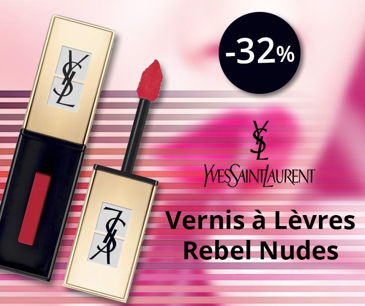 YSL Vernis à Lèvres Rebel Nudes